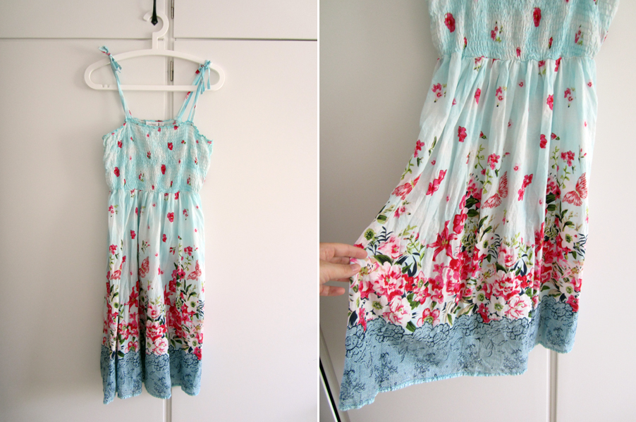 prickig klänning kappahl